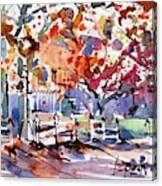 Williamsburg Color Canvas Print