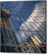 Willis Building Reflections No 3 Canvas Print