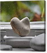 Window Hearts 2 Canvas Print