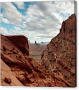 Window On The Desert Canvas Print