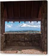 Window View - Ccc Lookout- Cedar Breaks - Utah Canvas Print