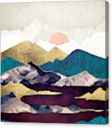 Wine Lake Canvas Print