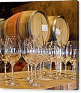 Wine Tasting Room Canvas Print