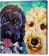 Winston And Ruby Canvas Print