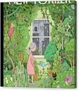 Winter Garden Canvas Print