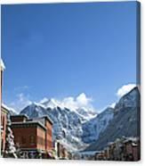 Winter Telluride Colorado Canvas Print