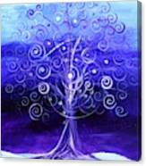 Winter Tree One Canvas Print
