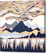 Winter's Sky Canvas Print