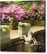 Winterthur Spring Pond Canvas Print