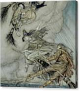 Witches, 1907 Canvas Print