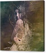 Woman In Distress Canvas Print
