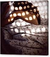 Woman Lying In Bed Canvas Print