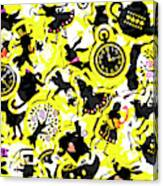 Wonderland Design Canvas Print