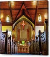 Woodstown Church Canvas Print