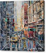 Workday II Canvas Print