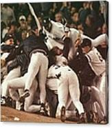 World Series 6 Yankees Canvas Print