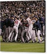 World Series Boston Red Sox V Colorado Canvas Print