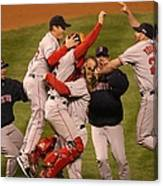World Series Boston Red Sox V Colorado Canvas Print
