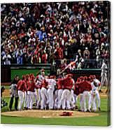 World Series Tampa Bay Rays V Canvas Print