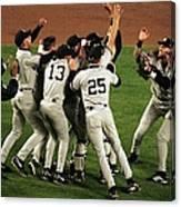 Yankees Celebrate Canvas Print