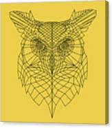 Yellow Owl Canvas Print