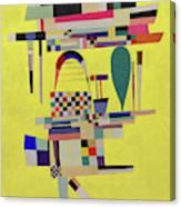 Yellow Painting - La Toile Jaune, 1938 Canvas Print