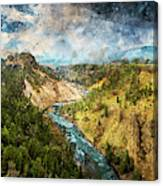 Yellowstone National Park - 05 Canvas Print
