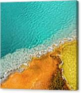 Yellowstone West Thumb Thermal Pool Canvas Print