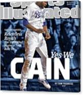 Yes We Cain 2015 World Series Preview Issue Sports Illustrated Cover Canvas Print
