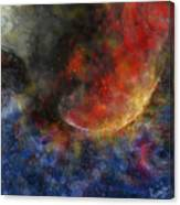 Ying Yang Fire And Water Canvas Print