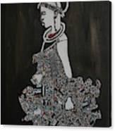Young Fulani Girl Canvas Print