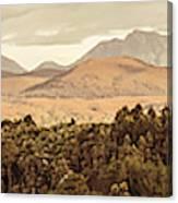 Zeehan And Beyond Canvas Print