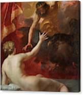 Zeus And Semele Canvas Print