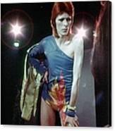 Ziggy Stardust Era Bowie Canvas Print