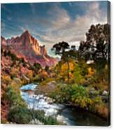 Zion And The Canvas Print