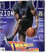 Zion Williamson: The Future Issue SLAM Cover Canvas Print