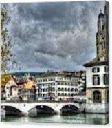 Zurich Switzerland Canvas Print