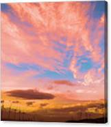 0278 Southern California Desert Sunsets Canvas Print