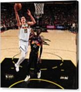 2021 NBA Playoffs - Denver Nuggets v Phoenix Suns Canvas Print