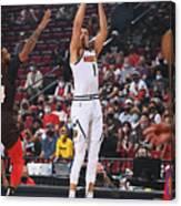 2021 NBA Playoffs - Denver Nuggets v Portland Trail Blazers Canvas Print