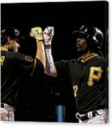 Andrew Mccutchen and Neil Walker Canvas Print