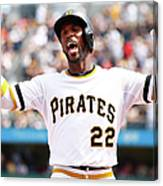 Andrew Mccutchen Canvas Print