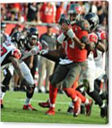 Atlanta Falcons v Tampa Bay Buccaneers Canvas Print