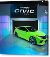 Automakers Showcase New Models At New York International Auto Show Canvas Print