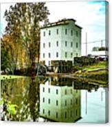 Mansfield Roller Mill  Canvas Print