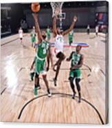 Boston Celtics v Toronto Raptors Canvas Print