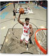 Chicago Bulls v Brooklyn Nets Canvas Print