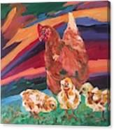Chicken Little Canvas Print