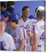 Darryl Strawberry Canvas Print