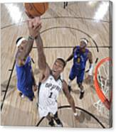 Denver Nuggets v San Antonio Spurs Canvas Print
